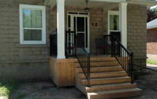 wooden stairs burlington