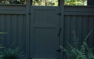 custom fence gate