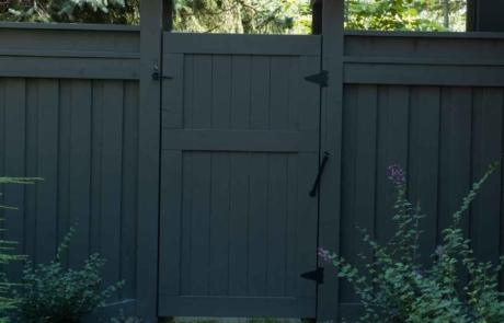custom fence and gate