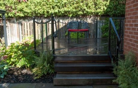 custom deck railings
