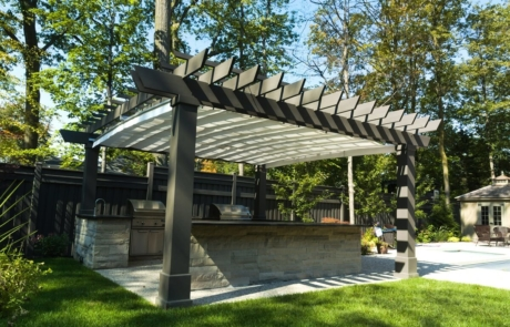 custom built pergola - Ancaster