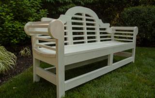 lutyens bench painted