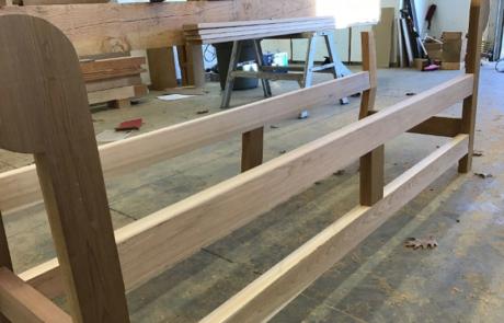 lutyens bench assembly part 2
