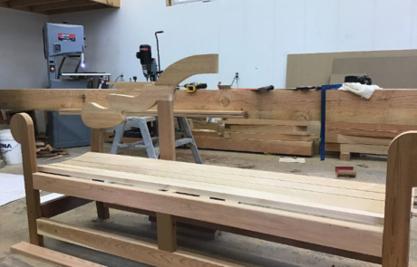 lutyens bench assembly part 4