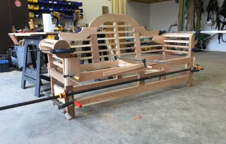 lutyens bench assembly part 6